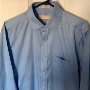 Michael Kors MENS Blue dress shirt, NWOT
